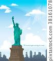 뉴욕, 동상, 자유의여신상 38161078