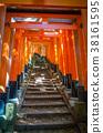 Fushimi Inari Taisha torii, Kyoto, Japan 38161595