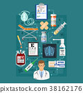 Medical Services Infographics 38162176
