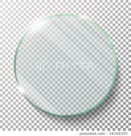 Transparent Round Circle Vector Realistic 38168395