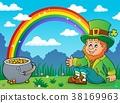 Sitting leprechaun theme image 3 38169963