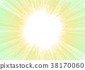 green abstract pixel stripe aura background 38170060