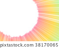abstract aura stripe shine background 38170065
