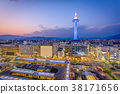 Kyoto, Japan Skyline 38171656