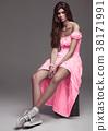 girl, dress, fashion 38171991