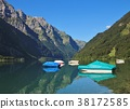 boat, lake, mountain 38172585