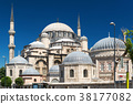 The Sehzade Mosque in Istanbul. 38177082