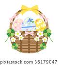 復活節彩蛋 復活節 籃子 38179047