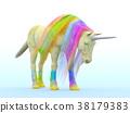 獨角獸 動物 馬 38179383