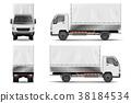 vector, car, truck 38184534