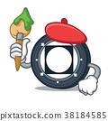 Artist Byteball Bytes coin character cartoon 38184585