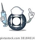Nurse Byteball Bytes coin character cartoon 38184614