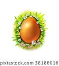 鸡蛋 复活节 花朵 38186016