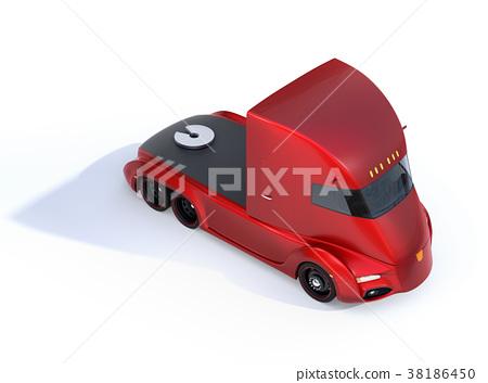 트럭, 자동 운전, 자율 주행 38186450