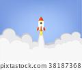 rocket, business, startup 38187368