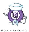 Sailor Pivx coin character cartoon 38187523