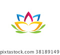 Beauty Lotus Vector flowers design 38189149