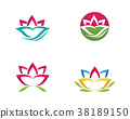 Beauty Lotus Vector flowers design 38189150