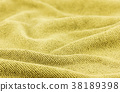 crumpled fabric background and texture. 38189398
