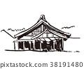 ภาพวาดสีน้ำอิซุโมะไทชา 38191480