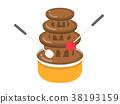 초콜릿 퐁듀 38193159