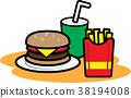 fast food, fast-food, burger 38194008