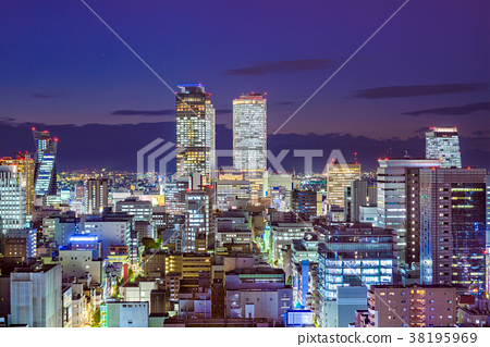 Nagoya, Aichi, Japan Skyline 38195969