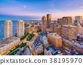 boston, massachusetts, skyline 38195970