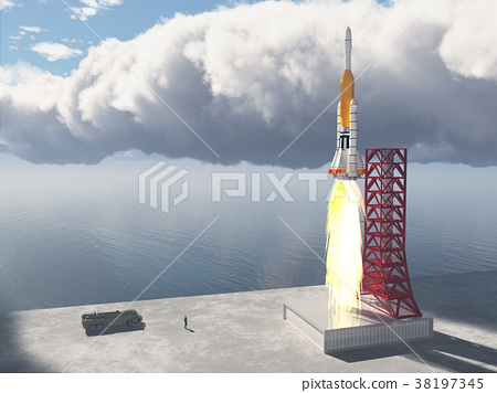 Launch vehicle and launch pad 38197345