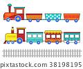 train, cartoon, kid 38198195