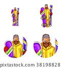 avatar, male, vector 38198828