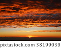 sunrise, sunup, altostratus clouds 38199039