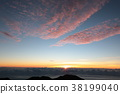 Sunrise on the Mauna Kea summit 38199040