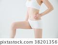 [带剪切路径]女性身体 38201356