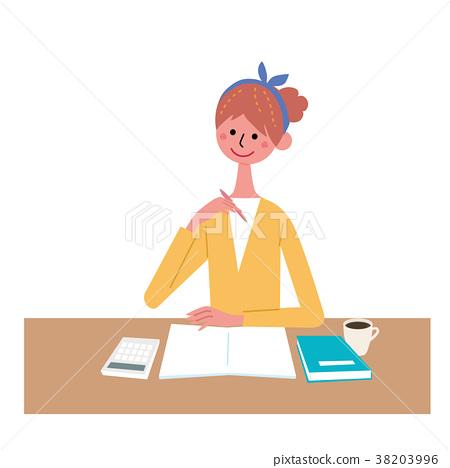 一個年輕成年女性 成熟的女人 女生 38203996