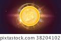 硬幣 錢幣 金色 38204102
