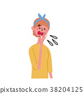 成熟的女人 一個年輕成年女性 女生 38204125