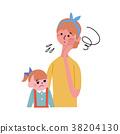矢量 父母身份 父母和小孩 38204130