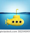 矢量 矢量图 潜水艇 38204849