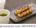 mitarashi dango, wagashi, japanese confectionery 38204958