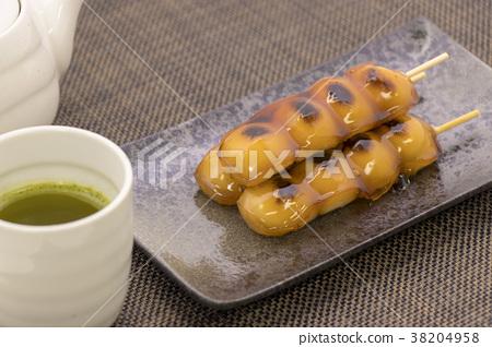 Mitarashi餃子茶 38204958
