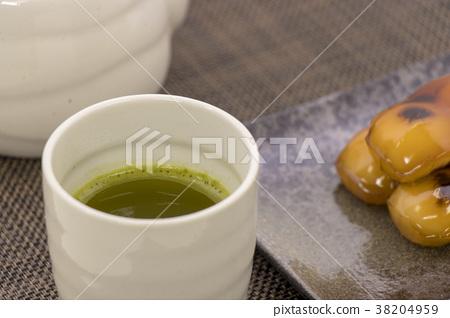 Mitarashi餃子茶 38204959