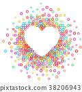heart, vector, symbol 38206943