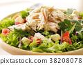 沙拉 色拉 鸡 38208078
