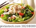 沙拉 色拉 鸡 38208089