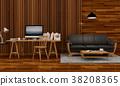 室内装饰 三维 立体 38208365