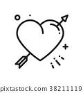 heart love arrow 38211119