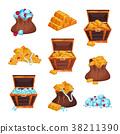 胸部 木製 袋 38211390