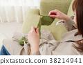 產婦媽媽做針織 38214941