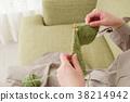 임산부, 뜨개질, 임신 38214942